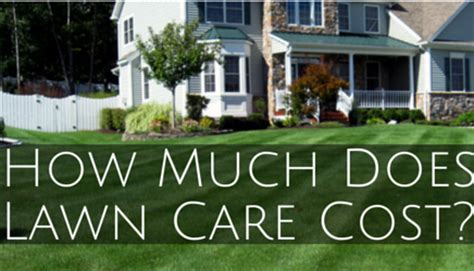 how much does a lawn cost top 28 how much does lawn cost how much does lawn care cost in ohio here s what you need