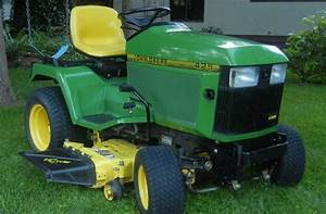 John Deere 425  445  And 455 Lawn And Garden Tractors Service Repair Technical Manual