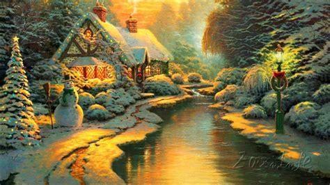 aliexpress buy kinkade paintings lights