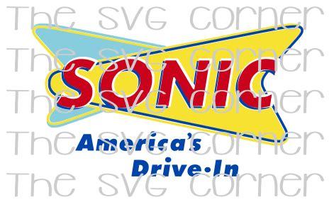 Sonic America's Drive In Logo SVG File – The SVG Corner