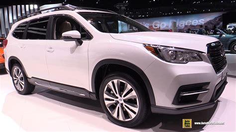 2019 Subaru Ascent Debut by 2019 Subaru Ascent Exterior And Interior Walkaround