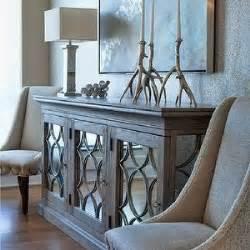 entry mirrored credenza   living room decor decor