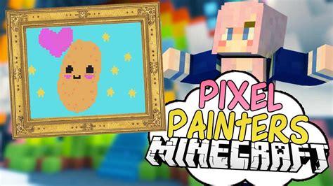 kawaii nyan potato pixel painters minecraft art