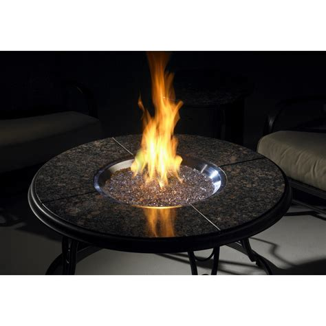 patio propane fire pit table 42 inch chat propane gas fire pit table with granite top