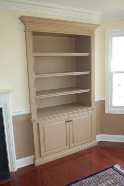 bookcase built into wall custom wall unit bookcases recessed into wall decor