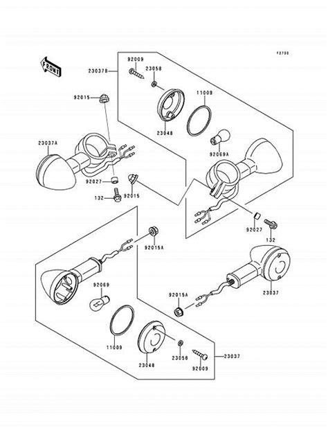 2001 Vulcan Wiring Diagram by 2012 Kawasaki Vulcan Vulcan Parts Diagram