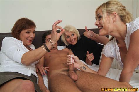 Three Hot Horny Ladies Giving A Good Handjo Xxx Dessert