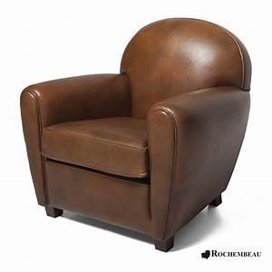 petit fauteuil club new york petit siege club en cuir de With fauteuil club design