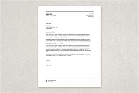 modern versatile letterhead template inkd