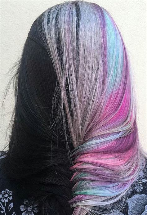 25 Best Ideas About Half Dyed Hair On Pinterest Crazy