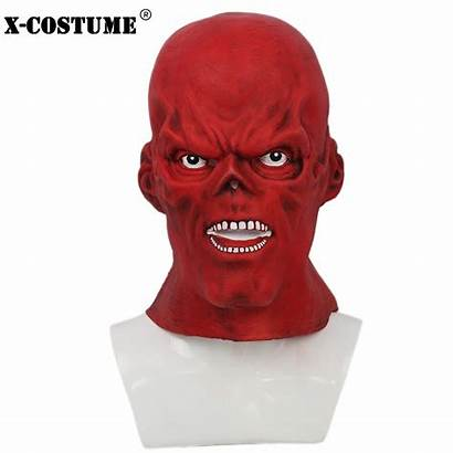 Cosplay Captain America Movie Props Latex Masks