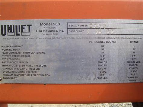 unilift  price  lapeer mi towablelift