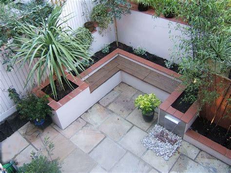 small and courtyard garden modern garden the
