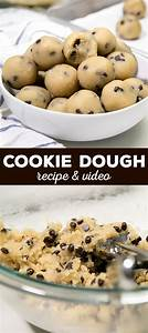 raw cookie dough recipe without eggs | Menurecipe.co