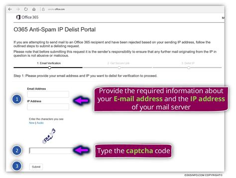 Office 365 Mail List by Submit A Request For Removing Your Mail Server Ip From