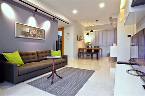 Dakota Crescent Apartment Earth Tone, Minimalist And