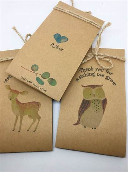 Shower Woodland Favors Theme Animal Animals Forest