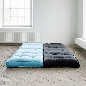 Chauffeuse 1 Personne : matelas futon 1 personne maison design ~ Teatrodelosmanantiales.com Idées de Décoration