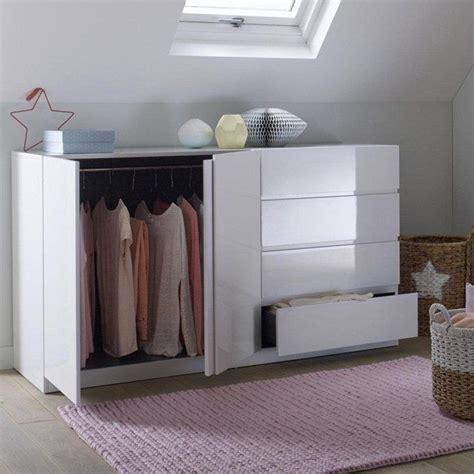 armoire basse chambre 10 idées à propos de armoire penderie sur