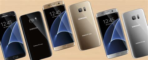 samsung galaxy s7 s7 edge color variants revealed