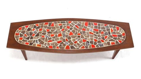 boat table tops for sale oval mossaic tile top rectangular boat shape walnut long