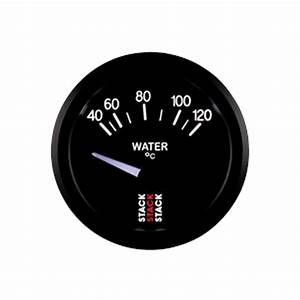 Stack 52mm Water Temperature Gauge
