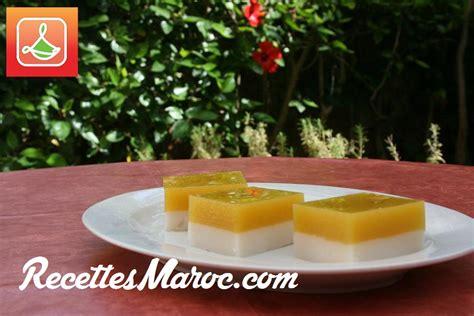 dessert a la noix de coco recette dessert mangue noix de coco recettes maroc