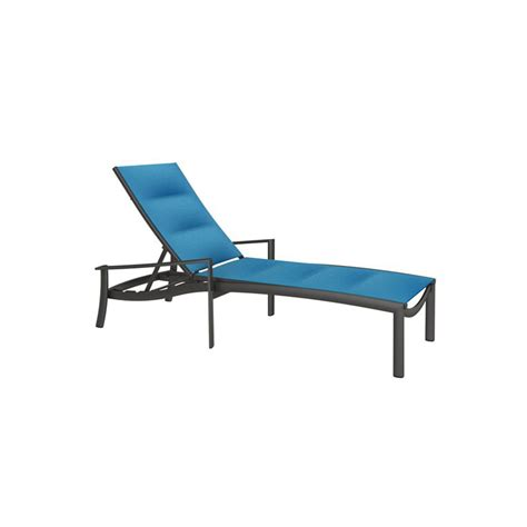 chaises discount tropitone 891532ps kor padded sling chaise lounge discount
