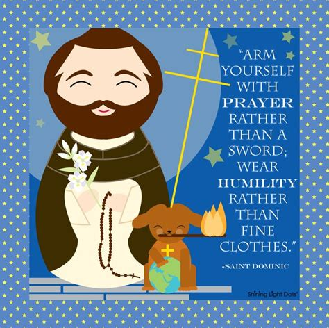 st dominic quote printable free other saints quot arm 246   657fb22c4d7c9a637f623ab5717da5b4 st dominic catholic quotes