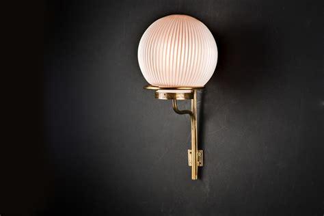 bespoke bone china and brass wall light felix lighting specialists vintage industrial lighting