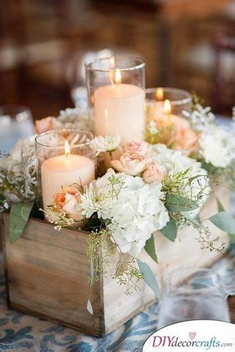 rustic ideas great diy wedding centerpieces