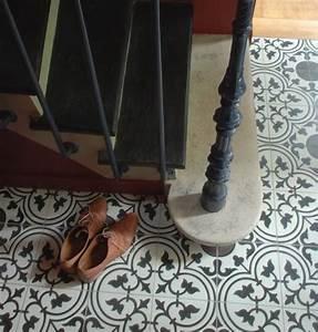 Escalier Carreaux De Ciment : carreaux de ciment entre r tro et modernit bienchezmoi ~ Dailycaller-alerts.com Idées de Décoration