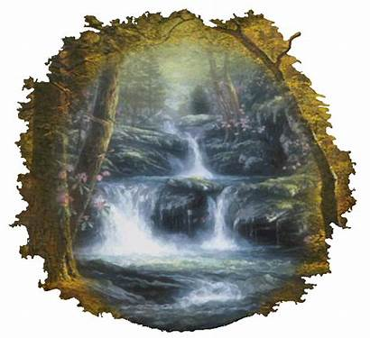 Waterfall Mountain Clipart Transparent Webstockreview