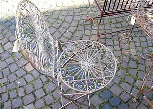 Gartenmöbel Aus Metall : gartenm bel metall mediterraner garten terrassenstuhl ~ One.caynefoto.club Haus und Dekorationen