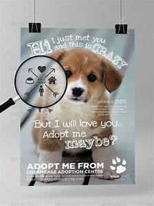 01 adoptmemaybe preview i just like pinterest flyer With dog adoption flyer template