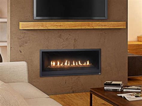 Awesome Interior Low Profile Vented Gas Fireplace