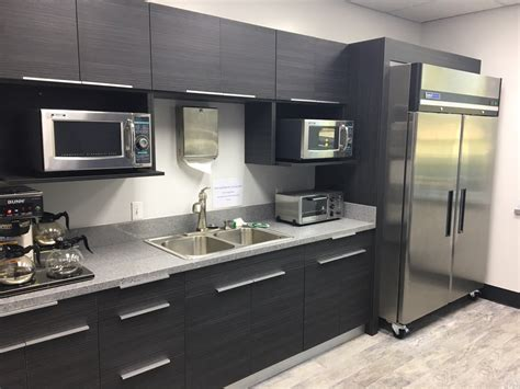 commercial work european style frameless cabinets  grey