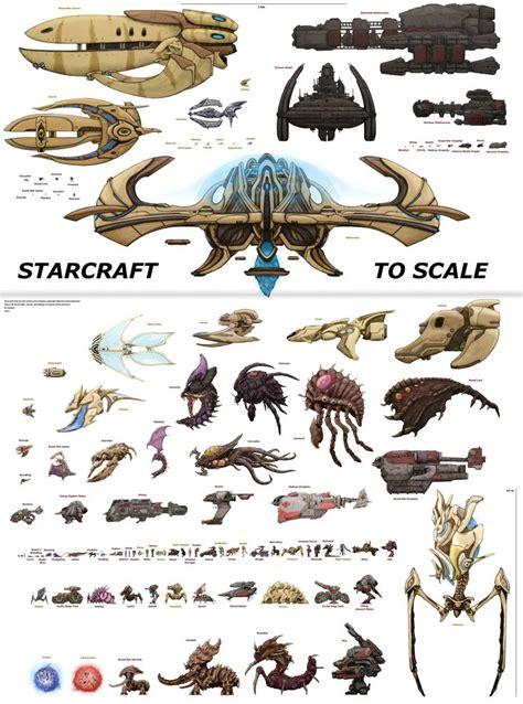 starcraft units  scale starcraft pinterest perspective charts  vehicles