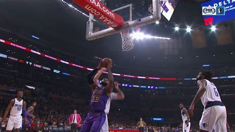 Luka Doncic Blocks LeBron James Twice at the Rim ...