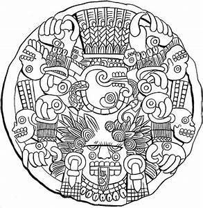 9 Best Images of Aztec Calendar Printable Free - Aztec ...