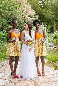 Robe Demoiselle Dhonneur : robe demoiselle d 39 honneur mariage africain mariage exotique mariage tropical robe wax ~ Melissatoandfro.com Idées de Décoration