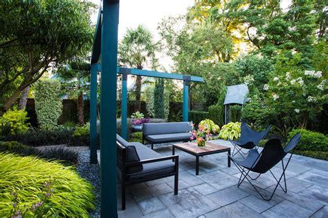 small garden  tropical makeover garden design