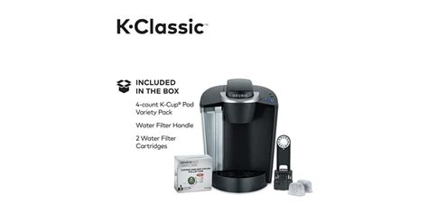 With kids, making coffee the old way takes time and was a bit of a hassle. Keurig K55/K-Classic Coffee Maker, Single Serve