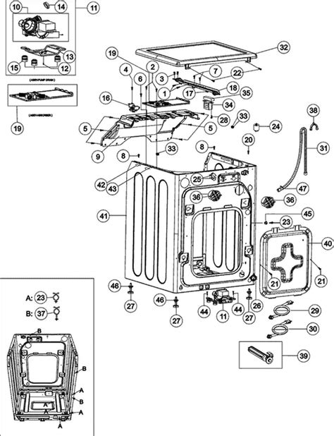 Maytag Mahaww Washer Parts Accessories