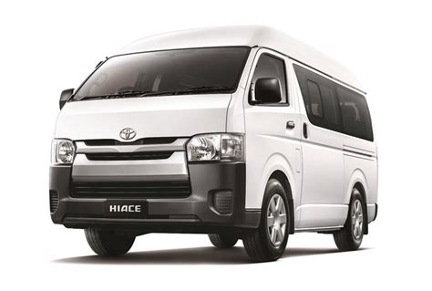 It is available in 4 colors and manual transmission option in the philippines. Toyota Hiace Commuter | Lombok Touristic