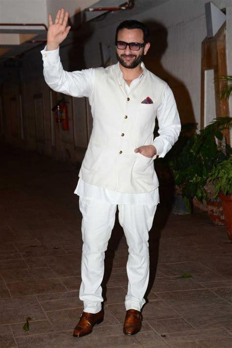 celebrity style actor saif ali khan   nehru jacket