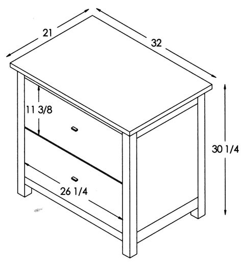 Desk File Cabinet Dimensions by Mission Lateral File Cabinet Ohio Hardwood Furniture