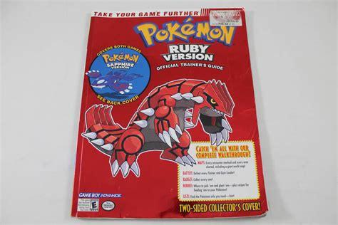 Pokemon Rubysapphire Version Brady Games