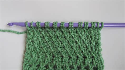 tunisian sampler scarf cal part  ambassador crochet
