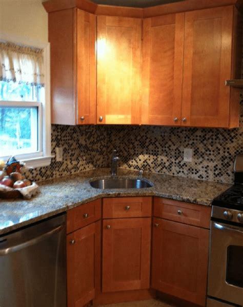cool corner kitchen sink designs  ideas